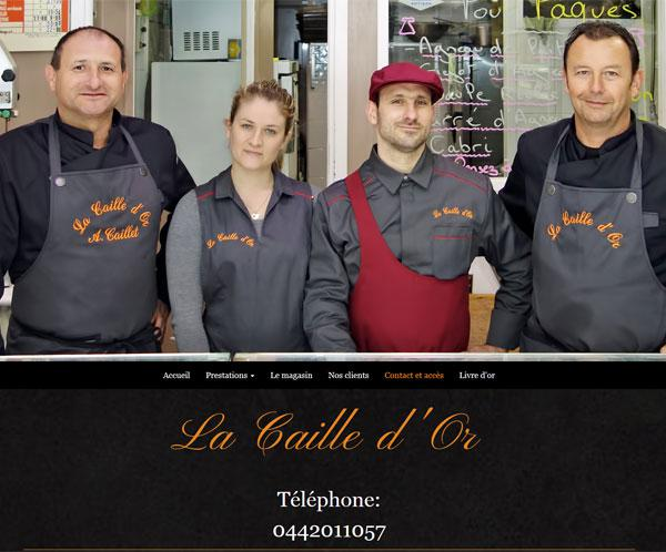 Catering, butcher shop in Cassis
