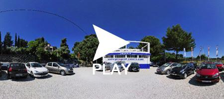 The Cassis Cars car garage