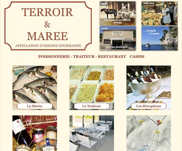 Catering, butcher and fish shop Cassis